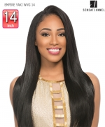 Sensationnel  100% Human Hair Weave Extention - EMPIRE YAKI WVG 14