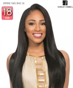 Sensationnel  100% Human Hair Weave Extention - EMPIRE YAKI WVG 18