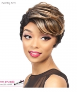 It's a wig Synthetic  Full Wig - SITI