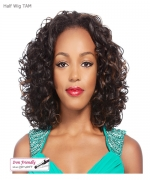 It's a wig Synthetic  Half Wig - HW TAM