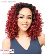 It's a wig Synthetic  Lace Front - LACE MARTIN