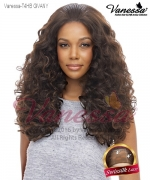 Vanessa Lace Front Wig T4HB GIVANY - Human Hair Blend Swissilk Lace Honey-4 Lace Front Wig