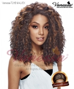 Vanessa Lace Front Wig TCHB MALVEX - Human Hair Blend C-SIDE LACE PART Lace Front Wig