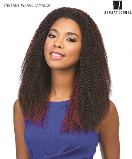 Sensationnel  Synthetic Weave Extention - INSTANT WEAVE - JAMAICA