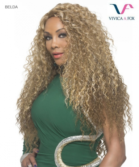 Vivica Fox Full Wig BELDA - Synthetic Pure Stretch Cap Full Wig