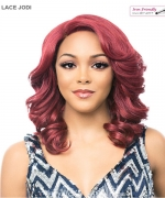 It's a wig Synthetic  Lace Front - LACE JODI