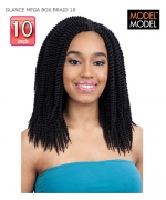 Model Model Braid - MEDIUM BOX BRAIDS GLANCE Synthetic Braid