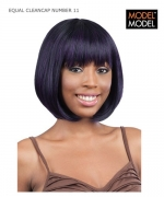 Model Model Full Wig - CLEANCAP NUMBER 11 EQUAL Synthetic Full Wig