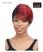 Model Model Full Wig - LENNON EQUAL PREMIUM Synthetic Full Wig