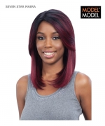 Model Model Full Wig - MAERA SEVEN STAR Synthetic Full Wig