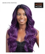 Model Model Full Wig - MARTINA SEVEN STAR Synthetic Full Wig