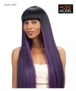 Model Model Full Wig - MAY EQUAL Synthetic Full Wig