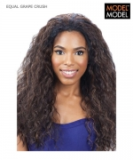 Model Model Half Wig - GRAPE CRUSH EQUAL Drawstring Full Cap Synthetic Half Wig