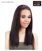 Model Model Half Wig - HURRICANE EQUAL Drawstring Full Cap Synthetic Half Wig
