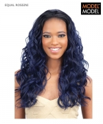 Model Model Half Wig - ROSSINI EQUAL Drawstring Full Cap Synthetic Half Wig