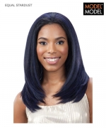Model Model Half Wig - STARDUST EQUAL Drawstring Full Cap Synthetic Half Wig