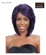 Model Model Lace Front Wig - DENVER EQUAL DEEP INVISIBLE L-PART Synthetic Lace Front Wig