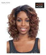 Model Model Lace Front Wig - ECHO EQUAL DEEP INVISIBLE L-PART Synthetic Lace Front Wig