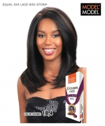 Model Model Lace Front Wig  - 5 X 4 LACE WIG STORM EQUAL U-CURVE Synthetic Lace Front Wig