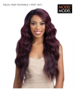 Model Model Lace Front Wig - JACY EQUAL DEEP INVISIBLE L-PART Synthetic Lace Front Wig