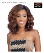 Model Model JAZZY  EQUAL DEEP INVISIBLE L-PART Synthetic Lace Front Wig