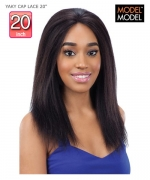 Model Model  YAKY CAP LACE 20 YAKY CAP Remi Human Hair Lace Front Wig