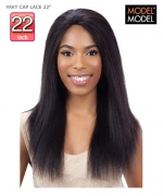 Model Model  YAKY CAP LACE 22 YAKY CAP Remi Human Hair Lace Front Wig