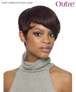Outre Full Wig - DUBY PREMIUM PIXIE FLARE Human Hair Full Wig