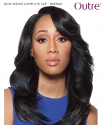 Outre QUIK WEAVE COMPLETE CAP - BRENDA  Synthetic Full Wig