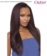 Outre QUIK WEAVE BATIK  DOMINICAN BLOW OUT STRAIGHT  Synthetic Half Wig