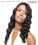 Outre SIMPLY LACE FRONT WIG - NATURAL DEEP  Human Hair Lace Front Wig