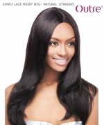Outre SIMPLY LACE FRONT WIG - NATURAL  STRAIGHT  Human Hair Lace Front Wig