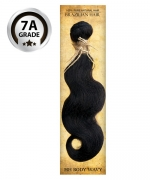 Top Hair Design  - BRAZILIAN 100% Virgin Human Hair HH BODY WAVY(NATURAL COLOR) -  7A GRADE (105 Gram)