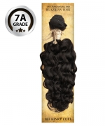 Top Hair Design  - BRAZILIAN 100% Virgin Human Hair KINKY CURL(NATURAL COLOR) -  7A GRADE (105 Gram)