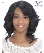 Vivica Fox Lace Front Wig TORI - Synthetic Invisible Side Part Lace Front Wig