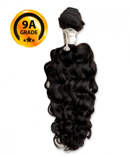 Top Hair Design  - BRAZILIAN 100% Virgin Human Hair HH KINKY CURL(NATURAL COLOR) -  9A GRADE (105 Gram)