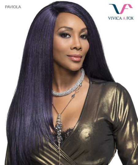 Vivica Fox Lace Front Wig PAVIOLA - Synthetic  Deep Swiss Lace Front Wig