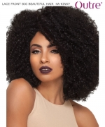Outre LACE FRONT BIG BEAUTIFUL HAIR  4A - KINKY Synthetic Lace Front Wig