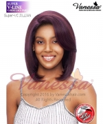 Vanessa Synthetic SUPER V-LINE C-SIDE LACE PART Full Wig - JILLIAN