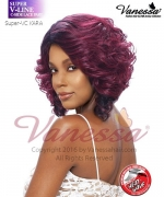 Vanessa Synthetic SUPER V-LINE C-SIDE LACE PART Full Wig - KARA