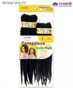 New Born Free Synthetic Hair Piece - Natty Senegal Twist Big NSTC1012