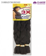 New Born Free Hair Piece - 3X KANEKALON TIARA BRAID Synthetic Hair Piece