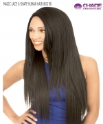 New Born Free Human Hair Blend Lace Front Wig - MAGIC LACE U-SHAPE  MLUH98