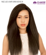 New Born Free Human Hair Blend Lace Front Wig - MAGIC LACE U-SHAPE MLUH99