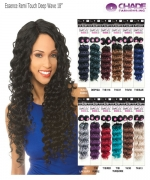 New Born Free Human Hair Blend Weave extention - Essence Remi Touch Deep Wave 18