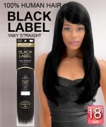 New Born Free Weave extention - Brazilian Black Label Human Hair 18