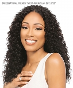 Sensationnel MALAYSIAN 1PK Remi Human Hair Weave Extention - BARE&NATURAL FRENCH TWIST 161820
