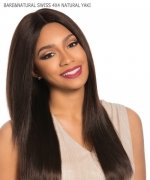 Sensationnel  Remi Human Hair Weave Extention - BARE&NATURAL SWISS 4X4  BRAZILIAN LACE WIG - NATURAL YAKI