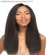 Sensationnel 100% PERUVIAN VIRGIN Remi Human Hair Weave Extention - BARE&NATURAL WET & WAVY BOHEMIAN 101214