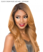 Sensationnel SWISS SILK BASED Human Hair Blend Lace Front Wig- CLOUD 9 DREAM MUSE SERIES CATHERINE